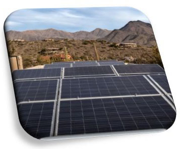 Installed Solar Energy Panels, Phoenix Arizona